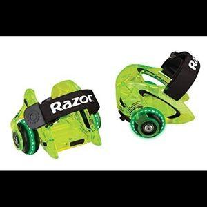 Children Rolled Skate By Razor